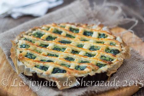 Tarte épinards ricotta | Les recette de les joyaux de sherazade | Scoop.it