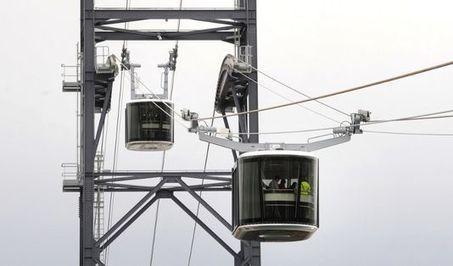 Le téléphérique urbain de Brest, premier du genre en France, a été inauguré - Le Monde | Mer & Enseignements | Scoop.it