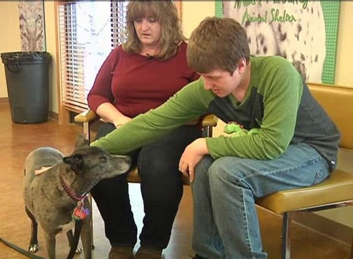 Autistic teen and his blind dog - a story of unconditional love | KRTV.com | Kinsanity | Scoop.it