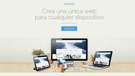Zeendo, nueva opción para crear páginas web sin necesidad de saber programar | E-learning and MOOC | Scoop.it