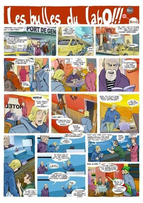 Raconter la vie de laboratoire en BD | AMCSTI 2012 | Scoop.it