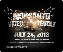 Monsanto Video Revolt announced: Join the uprising by posting your video everywhere on July 24, 2013 | A WORLD OF CONPIRACY, LIES, GREED, DECEIT and WAR | Scoop.it