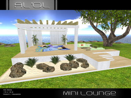 Mini Lounge by AL'OL Homes | Teleport Hub | SECOND LIFE FREEBIES | Scoop.it
