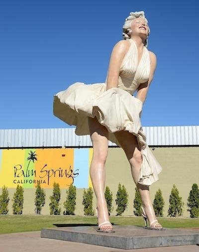 "Marilyn Monroe Statue Refuses To Leave Downtown Palm Springs - ""Last"" Concert - Wasn't | Gay Palm Springs | Scoop.it"