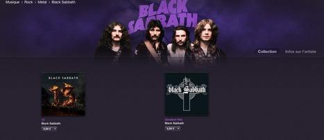 Des anciens albums de Black Sabbath débarquent sur iTunes - Apple Mind | Apple : Mac, iPhone, iPad | Scoop.it