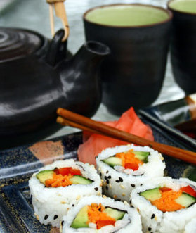 How to Slim Down Your Next Sushi Meal | CHARGE Your Nutrition! | Scoop.it
