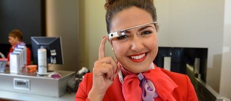 Google Glass worn by Virgin Atlantic staff to assist passengers at London's Heathrow airport   Heathrow   Scoop.it