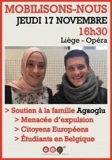 Les étudiants manifesteront ce jeudi contre l'expulsion d'une famille liégeoise | Haute Ecole HELMo | Scoop.it