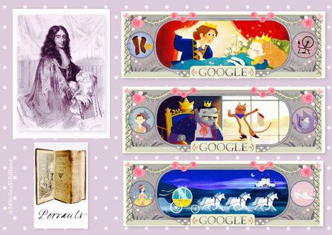 Mademoiselle SanDRillana: Il était une fois... le doodle de Perrault | FLE enfants | Scoop.it