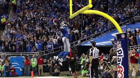 Detroit Lions' Calvin Johnson is No. 20 in NFL merchandise sales; QBs ... - Detroit Free Press | james starks | Scoop.it