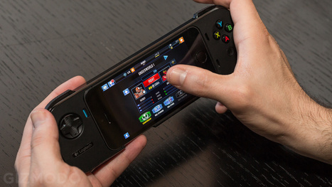 Logitech PowerShell: A Slim, Sturdy, (Maybe Dope) iOS Gaming Controller - Gizmodo | Culture traits. | Scoop.it