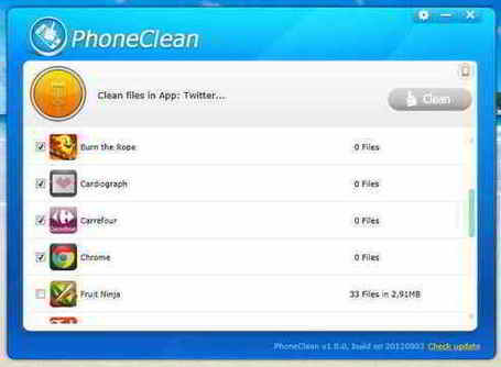 PhoneClean : faites le ménage sur votre iPhone sans jailbreak | Freewares | Scoop.it