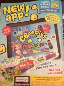 BBC to launch digital CBeebies Magazine for iPad and iPhone | Young Adult and Children's Stories | Scoop.it