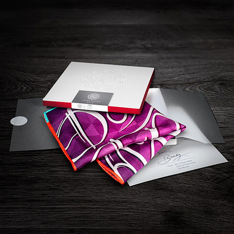 Typographic Pocket Squares | Communication design | Scoop.it