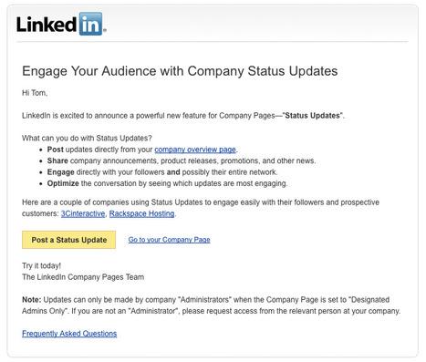 B2B Social Media & Linkedin's Latest Announcement « iMediaConnection Blog | Digital Strategies for Social Humans | Scoop.it