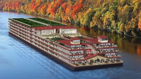 Luxury Condo Barge For U.S. Waterways | Barge Industry on America's Inland Rivers | Scoop.it
