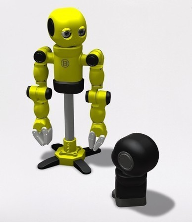 3D print your own robot with Hello Robo's MAKI | R and R | Scoop.it