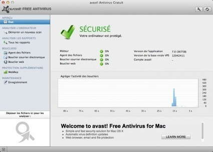 L'antivirus gratuit Avast s'exporte désormais vers Mac OS X | Apple, Mac, MacOS, iOS4, iPad, iPhone and (in)security... | Scoop.it