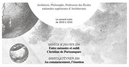 Université populaire 2014: 4 démarches d'architectes contemporains | The Architecture of the City | Scoop.it