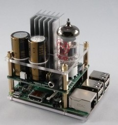 Raspberry Pi goes Hi-Fi with audio valve amp | Electronics Weekly | Arduino, Netduino, Rasperry Pi! | Scoop.it