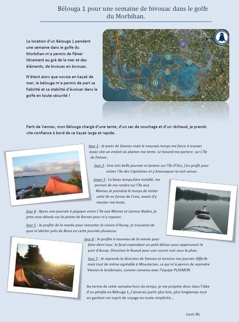 Une semaine de bivouac dans le Golfe du Morbihan   Blog du constructeur Plasmor   Le kayak de mer   Scoop.it