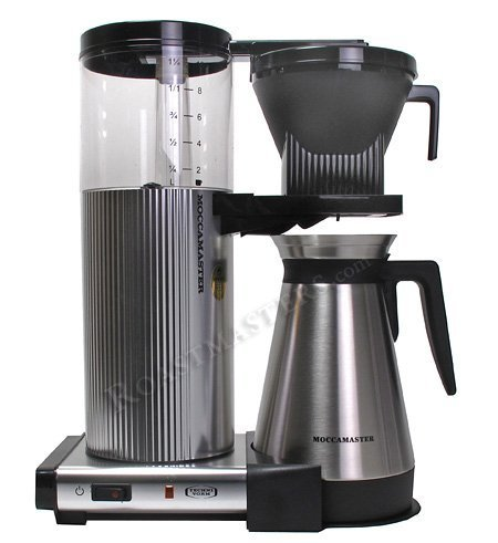 Technivorm Moccamaster Coffee Brewer with Thermo Carafe | Coffee News | Scoop.it