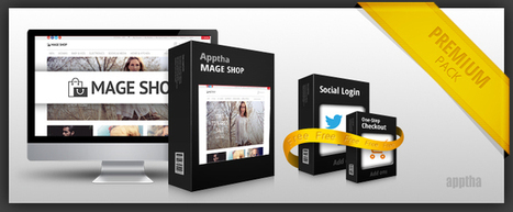 Mage Shop Gets Power Packed with Social Login and One-step Checkout Add-ons | johnabraham | Scoop.it