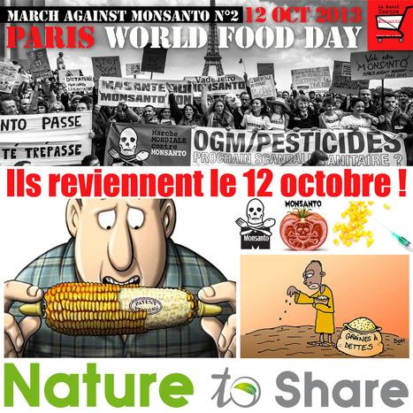 March against Monsanto N° 2 - 12 oct 201 | aurel | Scoop.it
