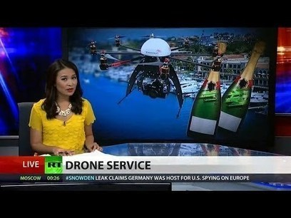 San Francisco hotel launches champagne delivering drone | The Alex Jones Channel | Scoop.it