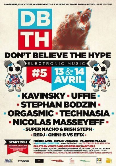 [Festival] 'Don't Believe The Hype' – 13 & 14 Avril 2012 Valbonne | France Festivals | Scoop.it