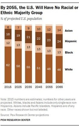 By 2055, America's Population will be Multicultural | FUTURE TRENDS THAT MATTER | Scoop.it