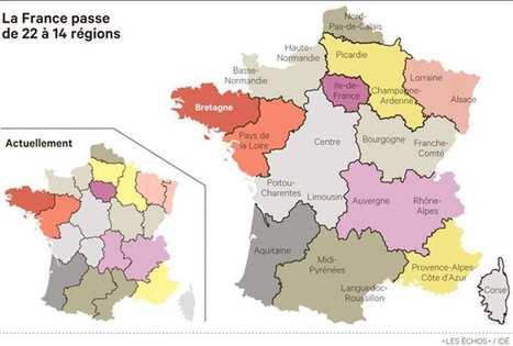 Hollande a dévoilé sa nouvelle géographie des régions françaises | DavidDcom | Scoop.it