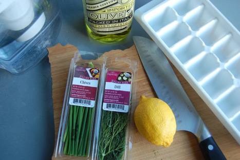 Great way to use up small amounts of fresh herbs and citrus! | From The Herb Cottage | Scoop.it