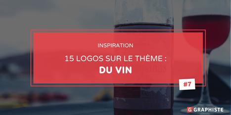 15 exemples de #logo sur le thème du vin | Graphic design | Scoop.it