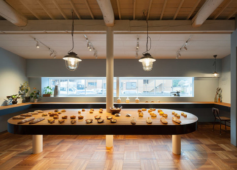 Old timber-framed house transformed into a bakery by Movedesign | Inspired By Design | Scoop.it