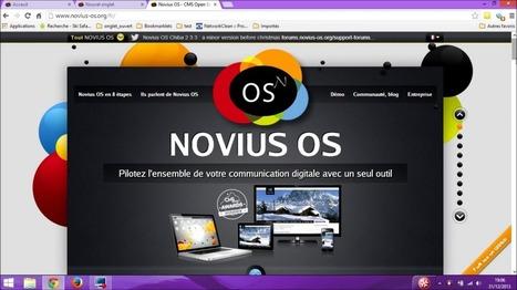 Novius-os le cms de la semaine | Nouvelles Technologies de l'Information et de la Communication | Scoop.it
