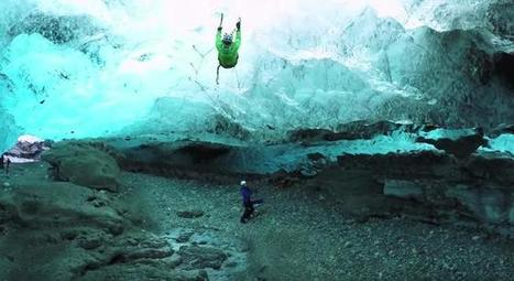 Ice Climbing Has Never Looked As Dangerous And Beautiful As It Does In This Video | MOVIES VIDEOS & PICS | Scoop.it