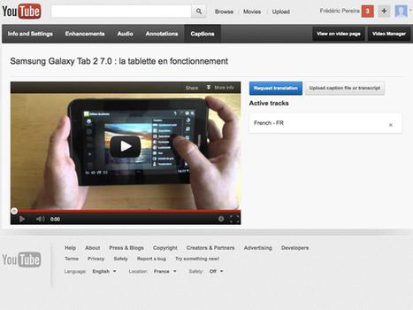 YouTube facilite la création de sous-titres pour les vidéos | CommunityManagementActus | Scoop.it