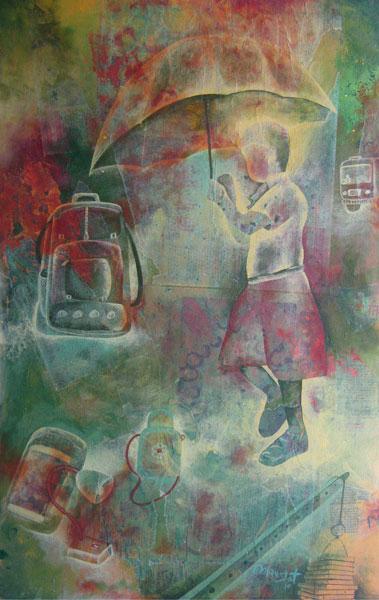 Buy Indian art paintings online by famous Indian Artist. | Modern Art | Scoop.it