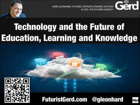 Technology and the future of education, learnin... | STEM EDTech | Scoop.it