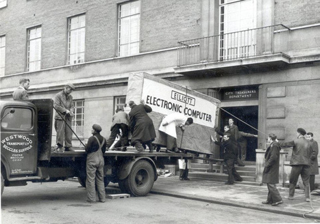 Picture of the Day: Delivering a Computer in 1957   xposing world of Photography & Design   Scoop.it