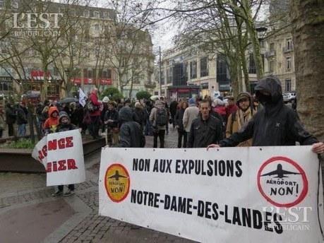 Le collectif Contre Notre-Dame-des-Landes de Besançon se mobilise | NPA 44 - revue de presse | Scoop.it