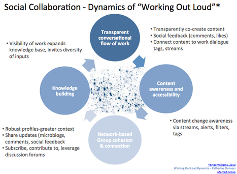 Cathexis: Social collaboration-the dynamics of working out loud   Curating change   Scoop.it