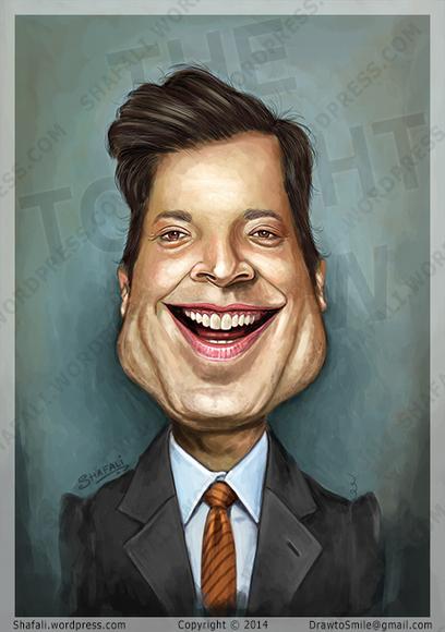 Jimmy Fallon's Carciature. | Caricatures | Scoop.it