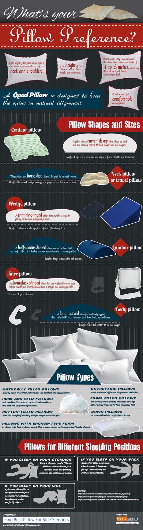 What should be your pillow preference? | holiday gifts | Scoop.it