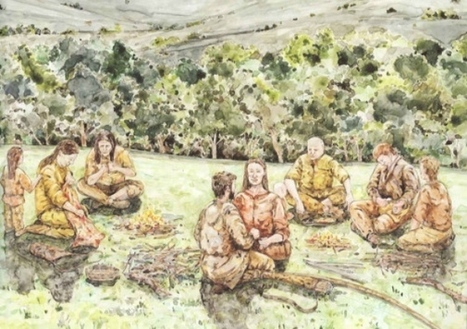 Real-life 'Flintstones' visited Goldsborough | Whitby Gazette | microburin mesolithic archaeology | Scoop.it
