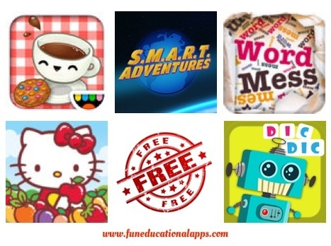 Daily Best Free and Discounted Apps for kids and Education - November 26 - Fun Educational Apps for Kids   Daily Free Kids Apps   Scoop.it