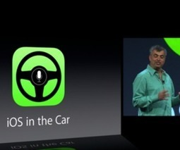 Apple announces 'iOS in the Car,' offers access to Maps, messages, and more | Connected Media (English & Francais) | Scoop.it