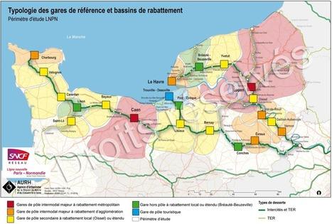 Le Havre - Ligne Nouvelle Paris-Normandie (LNPN) : contribution aux études préalables | Dernières publications des agences d'urbanisme | Scoop.it