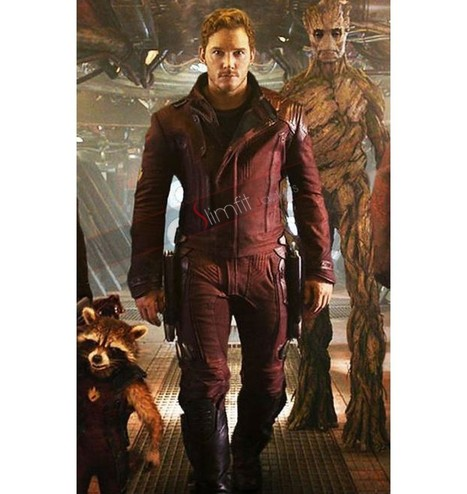 Peter Quill Guardians of the Galaxy Vol 2 Jacket | Replica Movies Leather Jackets | Scoop.it